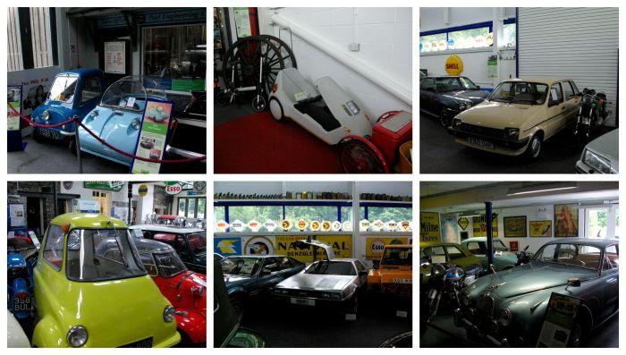 Unusual cars at Lakeland Motor Museum