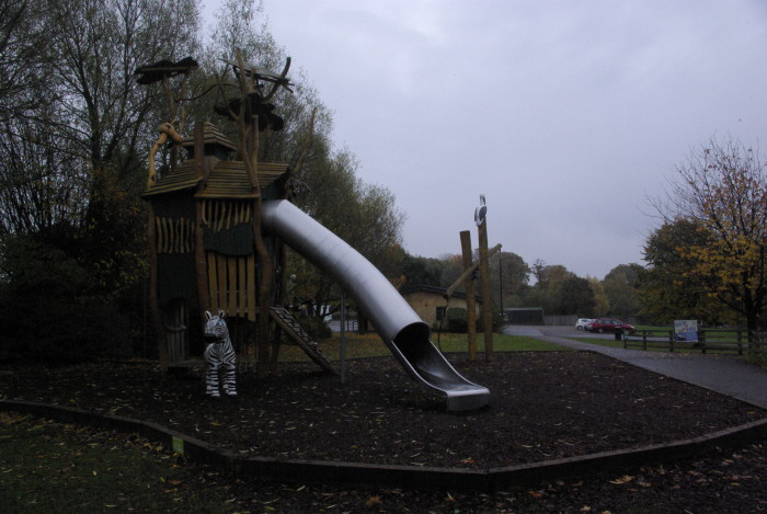 Playground at Knowsley Safari Park