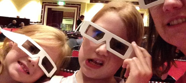 3D Glasses at Horrible Histories