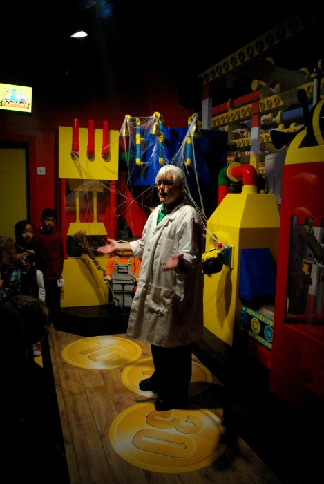 Factory tour and welcome ceremony at Legoland Discovery Centre Manchester