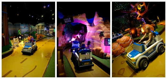Lego City Forest Pursuit at Legoland Discovery Centre Manchester