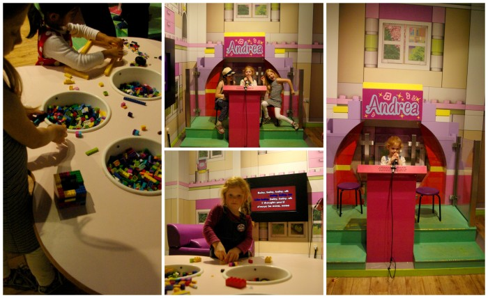 Lego Friends corner at Legoland Discovery Centre Manchester