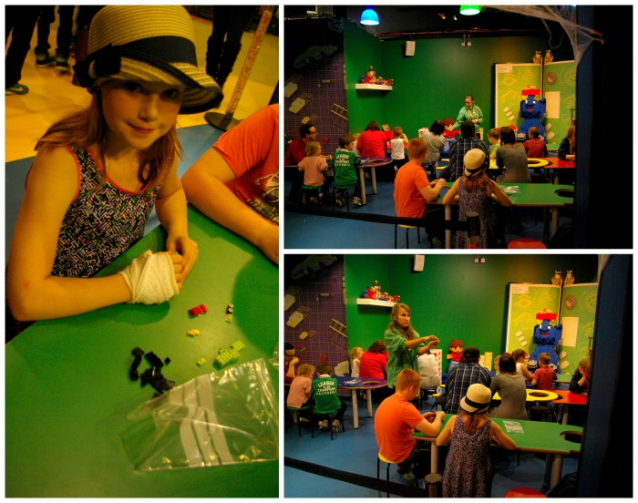 Master model builder at Legoland Discovery Centre Manchester