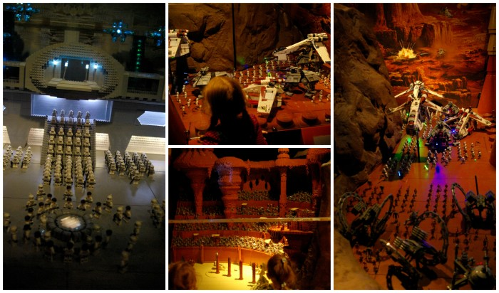 Star Wars room at Legoland Discovery Centre Manchester