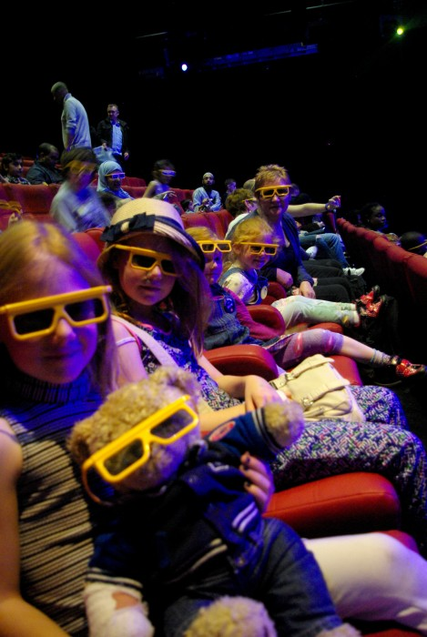 The 4D movie at Legoland Discovery Centre Manchester
