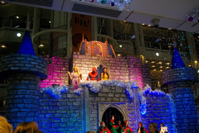 VIP launch of Santas Grotto at Princes Quay Hull