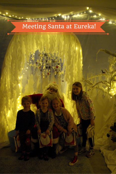 Meeting Santa at Eureka!