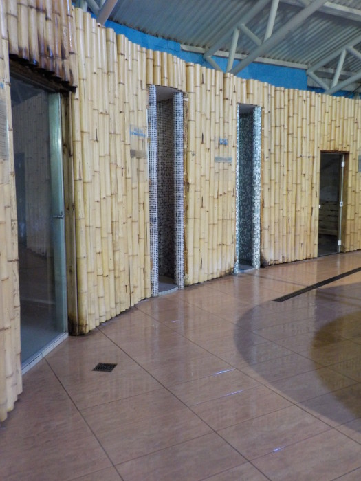 The steam room and sauna at The Spa Butlin's Skegness