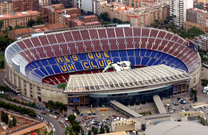 Camp Nou from wikipedia
