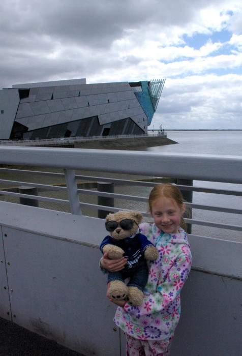The Deep Hull with Charlie the school bear