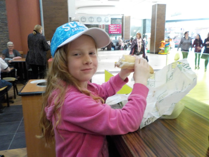Subway at Doncaster Frenchgate