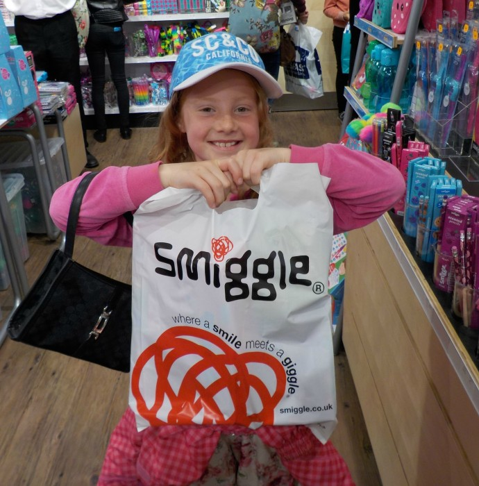 Happy customer at Smiggle