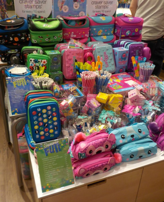 Summer range at Smiggle