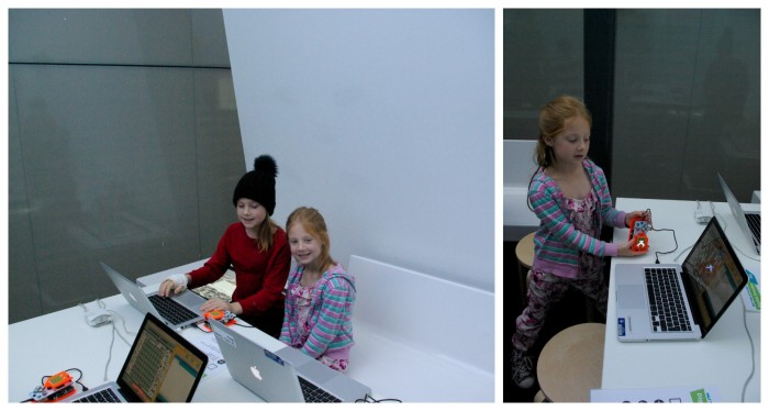 A coding workshop at the National Media Museum