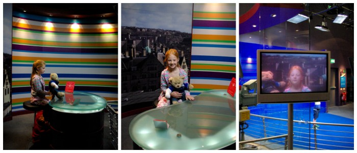 Being a newsreader at the National Media Museum