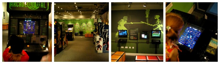 Classic arcade games at the National Media Museum
