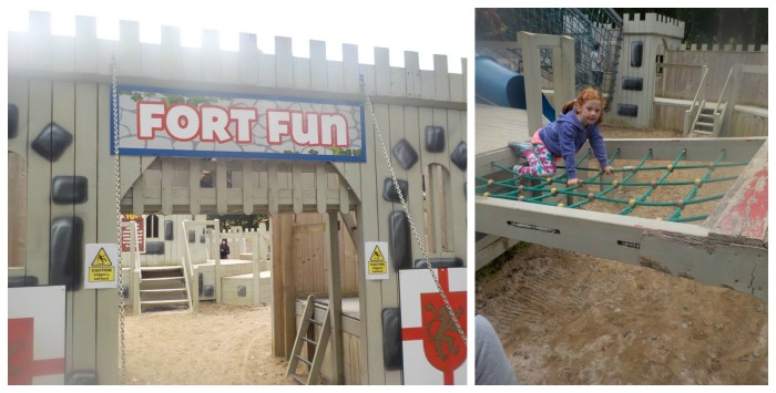 Fort Fun at Camel Creek Adventure Park