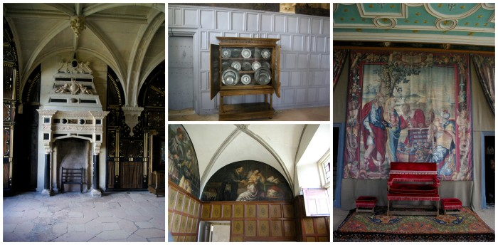 Inside Bolsover Castle