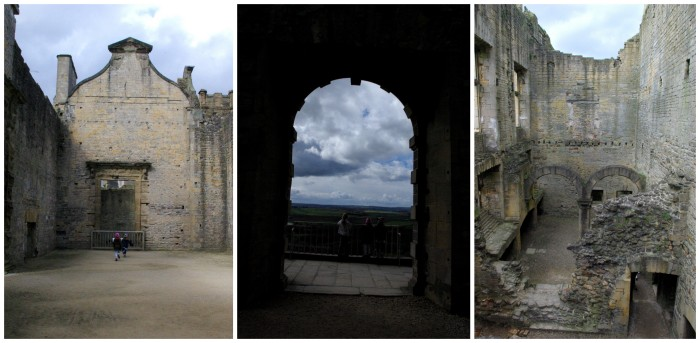 The great hall at Bolsover Castle
