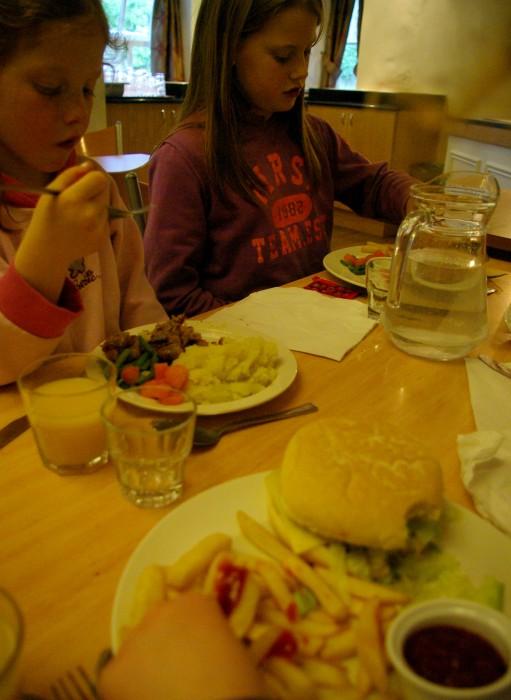 The restaurant at YHA Grinton Lodge