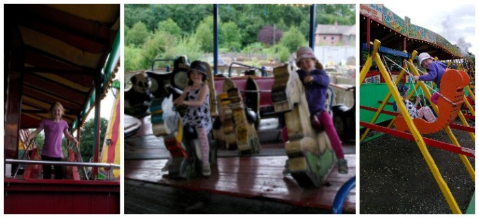 The funfair at Black Country Living Museum