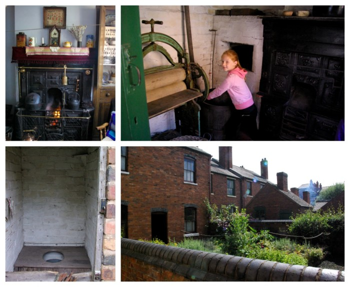 The houses at Black Country Living Museum