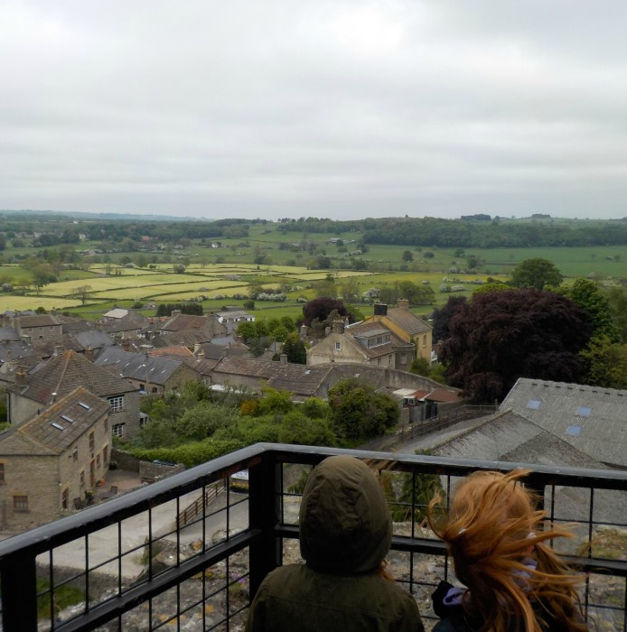 From the top of Middleham Castle