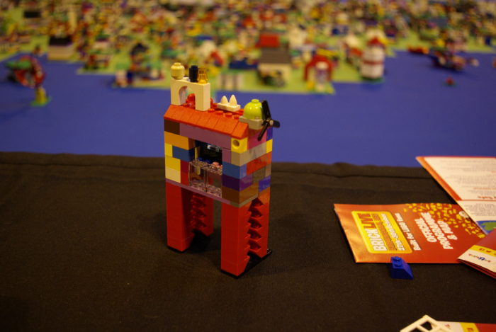 Our house for the Build Britain map at Brick Live Birmingham
