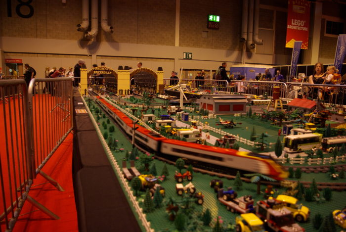 Train sets galore at Brick Live