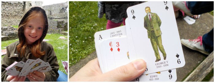 Kings and Queens card game from English Heritage