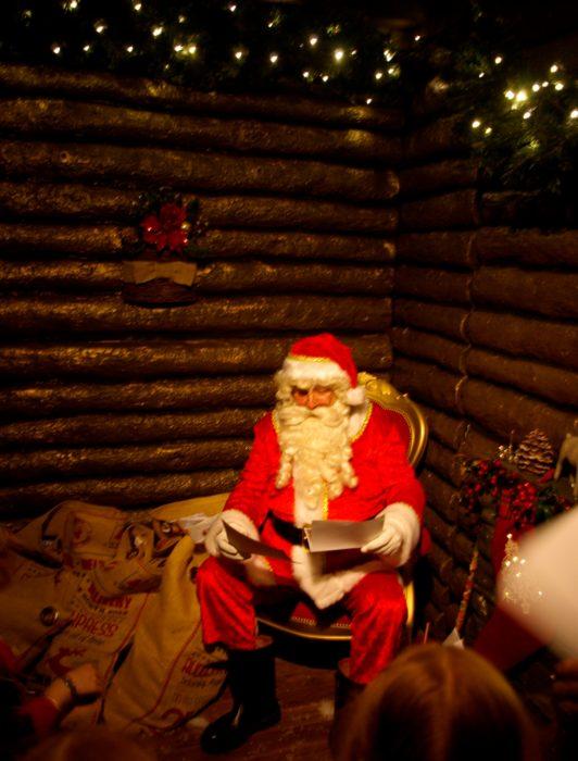 Meeting Santa at Princes Quay review