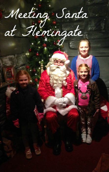 Meeting Santa at Flemingate Beverley