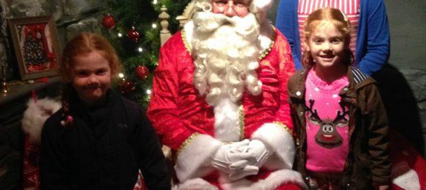 Meeting Santa at Flemingate Beverley
