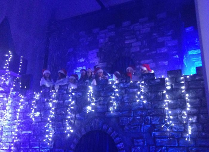 Santa's grotto at Flemingate Beverley