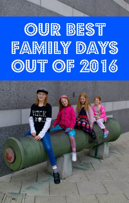 Our top family days out for 2016