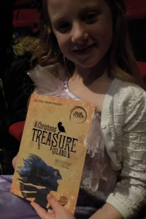 Watching A Christmas Treasure Island at Hull Truck Theatre