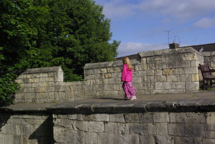 Walking the walls in York