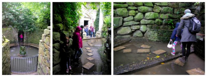 The water area at Forbidden Corner