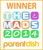 MAD Blog Awards 2014 winner best family travel blog