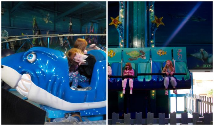 Lost World of Atlantis indoor rides at Crealy Adventure Park