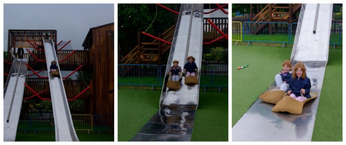 Slides at Crealy Adventure Park