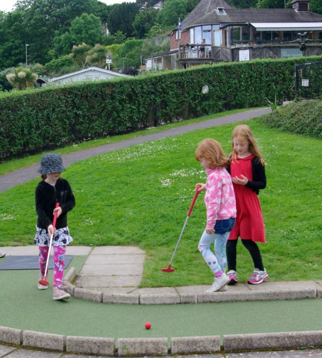 Lyme Regis crazy golf
