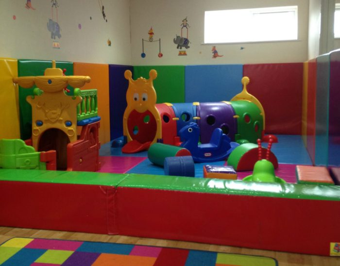 Tots soft play at Andrewshayes Holiday Park