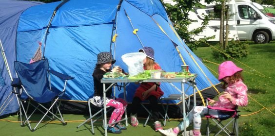 Camping Holidays in the UK
