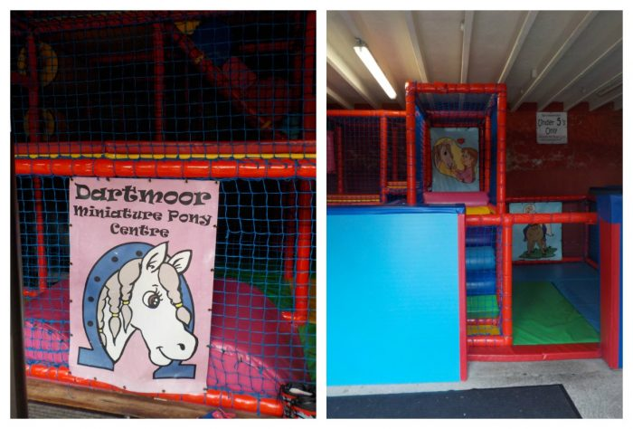 Soft play at The Miniature Pony Centre
