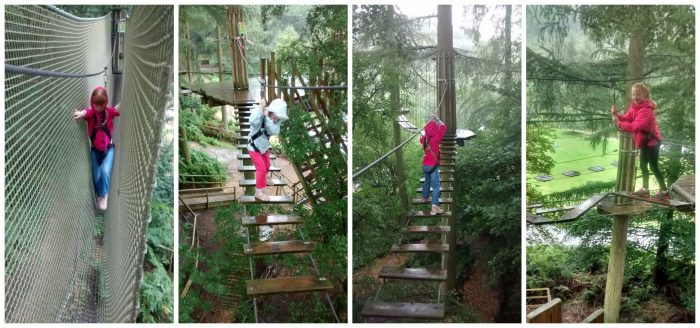 Tree top Junior at Go Ape Dalby Forest
