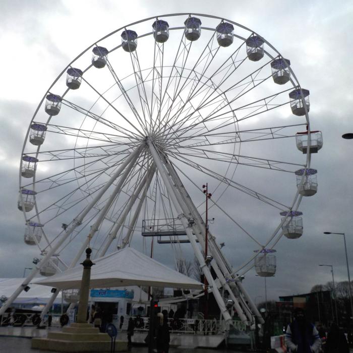 Christmas Wheel of Light