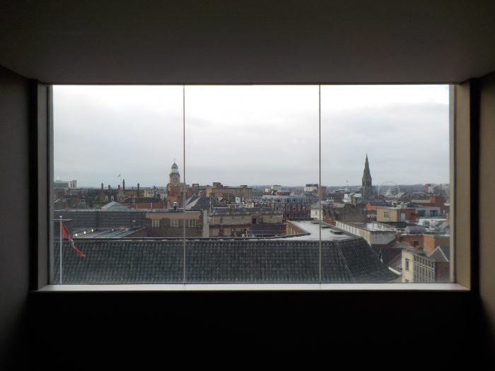 Ramada Encore Leicester from the 7th floor