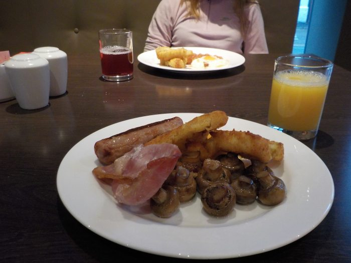 Breakfast at Ramada Encore Leicester
