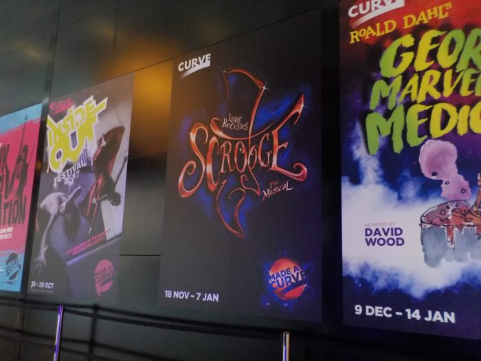 Scrooge the Musical Curve Leicester review
